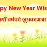 Happy New Year Wishes Messages in Nepali